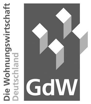 Logo: GdW Bundesverband deutscher Wohnungs- und Immobilienunternehmen e.V.